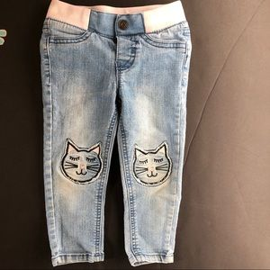 Cat & Jack Kitty Jeans